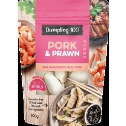 Photo of Dumpling 100 Pork & Prawn Dumplings 500g