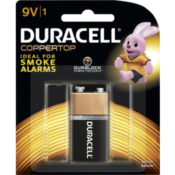 Photo of Duracell Coppertop 9v