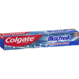 Photo of Colgate Max Fresh Toothpaste With Mini Breath Strips Cool Mint 110g