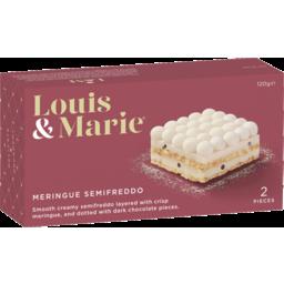 Photo of Louis & Marie Meringue Semifreddo 2x120g