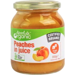 Photo of Absolute Organic Peaches In Juice