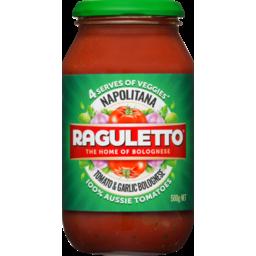 Photo of Raguletto Napolitana Classic Tomato Pasta Sauce 500gm