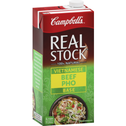 Photo of Campbell's Real Stock Vietnamese Beef Pho Base 1l