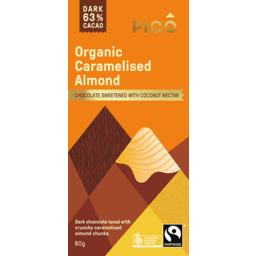 Photo of Pico Organic Chocolate Caramelised Almond 80gm