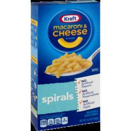 Photo of Kraft Macaroni & Cheese Dinner Spirals
