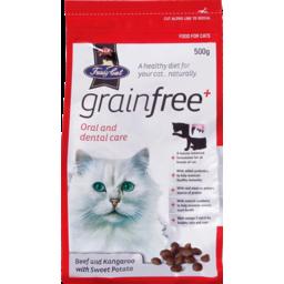 Photo of Fussy Cat Dry Cat Food Grain Free Beef & Kangaroo with Sweet Potato 500g