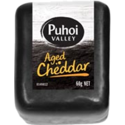 Photo of Puhoi Cheddar Aged 60g