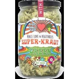 Photo of Peace Love & Veg Green Superkraut