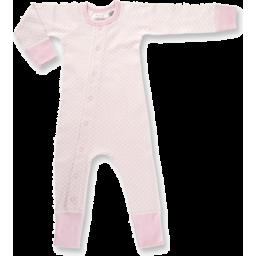 Photo of Sapling Organic Romper - Dusty Pink (0-3 Months)