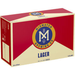 Photo of Mismatch Brew Lager Can