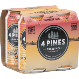 Photo of 4 Pines Indian Summer Pale Ale Can