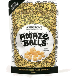 Photo of Ashgrove Amazeballs Cheddar 50gm