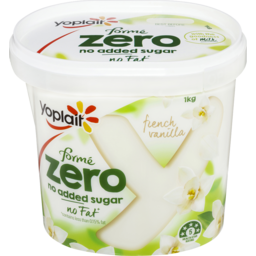 Photo of Yoplait Forme Zero Yoghurt French Vanilla 1kg