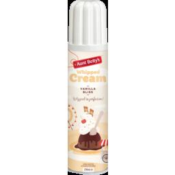 Photo of Aunt Betty's Whipped Cream Vanilla 250ml