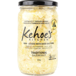 Photo of Kehoe's Traditional Sauerkraut 650gm