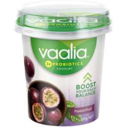 Photo of Vaalia Yoghurt Passionfruit 160g