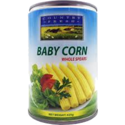 Photo of Country Fresh Baby Corn Whole 425g