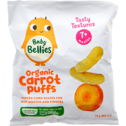 Photo of Little Bellies Baby Puffs Yummy Carrot 12g
