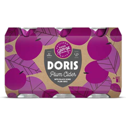 Photo of Good George Doris Plum Cider 6 Pack Cans
