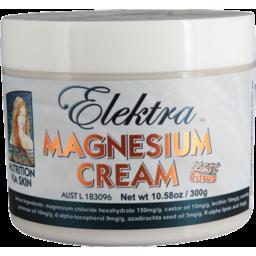 Photo of Elektra Magnesium Cream - Zest Citrus 300g