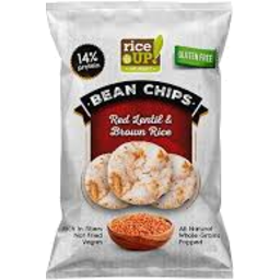Photo of Rice Up Bean Chips Red Lentil 60g