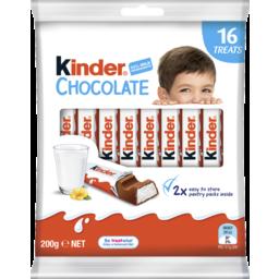 Photo of Kinder Chocolate 16 Treat Sharebag 200g