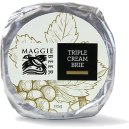 Photo of Maggie Beer Triple Cream Brie Round 125gm
