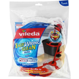 Photo of Vileda Easy Wring & Clean Spin Mop Refill