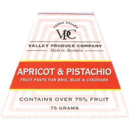 Photo of Valley Produce Company Apricot & Pistachio Fruit Paste 75g 75g