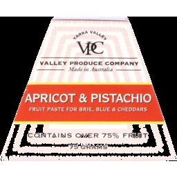 Photo of Valley Produce Co. Apricot & Pistachio Fruit Paste 75g