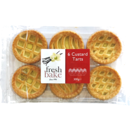 Photo of Fresh Bake Custard Tarts 6pk 300gm