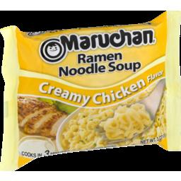 Photo of Maruchan Ramen Noodle Soup Creamy Chicken Flavor