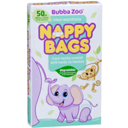 Photo of Bubbazoo Nappy Bag 50pk