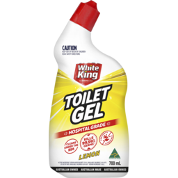 Photo of White King Bathroom Power Gel Lemon 700ml