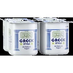 Photo of Farmers Union Greek Style Natural Yogurt 4x160gm