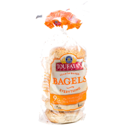 Photo of Toufayan Everything Bagels