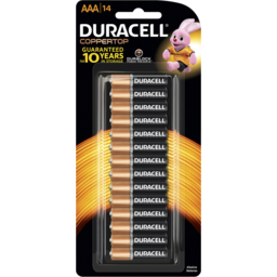 Photo of Duracell Coppertop Batteries Aaa 14 Pack