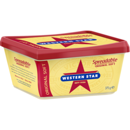 Photo of Western Star Spreadable Original Soft 375g