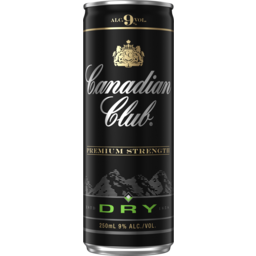 Photo of Canadian Club & Dry Premium Can