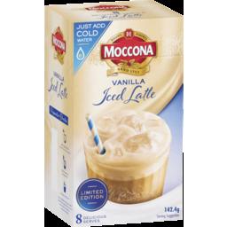 Photo of Moccona Vanilla Iced Latte 8pk