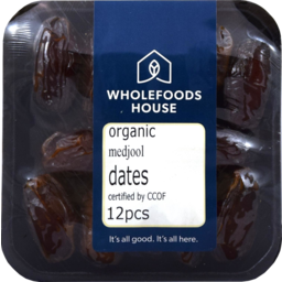 Photo of Wholefoods House Dates Medjool Organic 12pcs