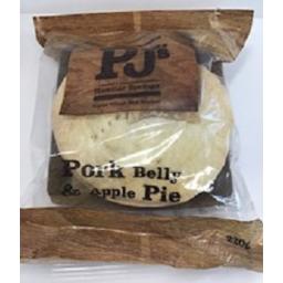Photo of PJ's Pie Pork Belly & Apple Pie 220gm
