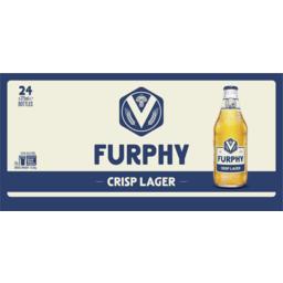 Photo of Furphy Crisp Lager 24x375ml Bottle Carton