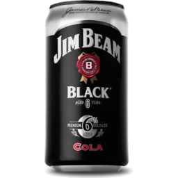 Photo of Jim Beam Black & Cola * Can