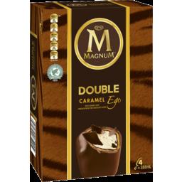 Photo of Magnum Ice Cream Double Caramel 4 Pack 388ml