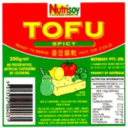 Photo of Tofu - Spicy 200g