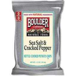Photo of Boulder Sea Salt & Cracked Pepper Potato Chips 142gm