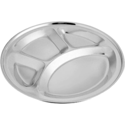 Photo of 30cm Round 4 Compartment Tray - Dish