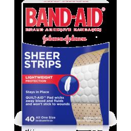 Photo of Band Aid Sheer