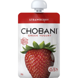 Photo of Chobani Greek Yogurt Strawberry 140g